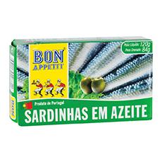 Bon Appetit Sardinhas em Azeite 84g